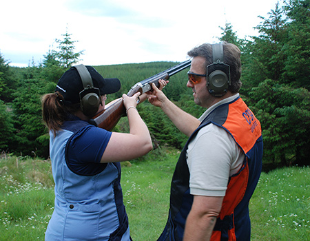 Scotland Clay Pigeon Shooting